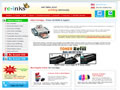 Re-inks offers high quality cheap inkjet printer Ink cartridges, HP Toner refills and Epson, HP Toner cartridges , Toner Refill kits , brother refills ,canon toner cartridges, continuous ink system , toner refills and other ink cartridges in USA & Canada.